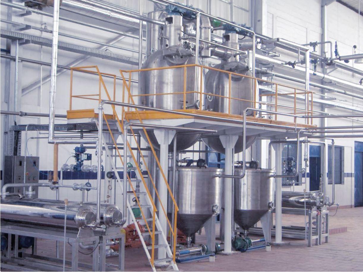 Machines de production de concentré de fruits
